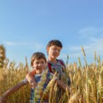 Kids Field Wheat Rye Summer  - Victoria_Borodinova / Pixabay